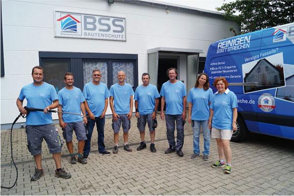Gruppenbild BSS Bautenschutz Savignon GmbH